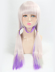 Purple Ombre Wig Cospaly Lolita Party Synthetic Wig Heat Resistant Long Straight Popular Design