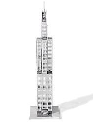 3D пазлы Металлические пазлы Для получения подарка Конструкторы Знаменитое здание Архитектура Металл от 14 лет Розовый Игрушки