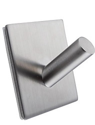 Robe Hook / Brushed Stainless Steel /Contemporary