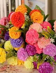 1 Ast Kunststoff andere Künstliche Blumen 40
