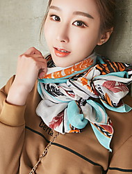 New Korean Version Of Flower Pattern Scarf