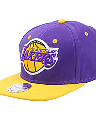 Hat Unisex Spring Summer Fall/Autumn Winter Basketball Cotton Characters Yellow Gray Purple