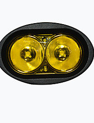 1PCS 12W Amber LED Work Light