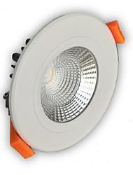 1pcs 5w 400-450lm soutien dimmable led de receseed lumières de plafond cob
