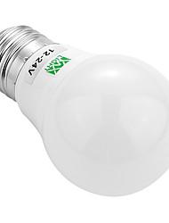 3W E26/E27 Bombillas LED de Globo 6 SMD 5730 200-300 lm Blanco Cálido Blanco Fresco Decorativa AC 12 V 1 pieza