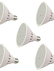 6W E27 Lampes Horticoles LED 106 SMD 3528 2500-3000 lm Rouge Bleu V 5 pièces