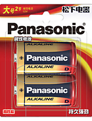 Panasonic lr20bch / 2b bateria alcalina d 1.5v 2 unidades