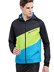 Mysenlan Cycling Jacket Men's Bike Fleece Jackets Spandex Fashion Winter