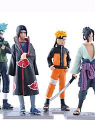 Las figuras de acción del anime Inspirado por Naruto Naruto Uzumaki PVC 19 CM Juegos de construcción muñeca de juguete