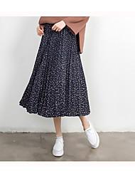 unterzeichnen Frühjahr Modelle Röcke 2017 Vintage kleine frische Blumen Rock Röcke