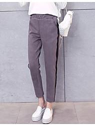 Photos: 2017 nouvelles rayures lâche sarouel neuf points était mince collège korean vent pantalons
