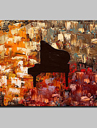 Hand-Painted Modern Abstract Oil Painting On Canvas Memory Instrument Wall Picture For Home Decoration Ready To Hang