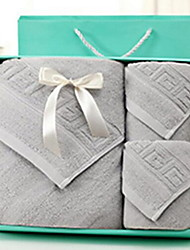 Bath Towel SetSolid High Quality 100% Cotton Towel