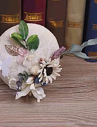 Ткань головной убор-свадьба специальный случай случайные наружные шляпы 1 шт.
