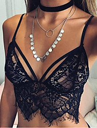 ebay AliExpress explosion models of foreign trade women hollow lace suspenders sexy vest sexy lingerie