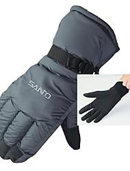 Лыжные перчатки осенние и зимние холодные водонепроницаемые теплые перчатки
