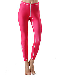 Women's Wetsuit Skin Ultraviolet Resistant LYCRA® Terylene Tactel Diving Suit Bottoms-Beach Spring Summer Fall/Autumn Winter Fashion Solid