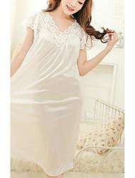 Women's Gartered Lingerie Garters & Suspenders Nightwear Solid-Thin Polyester Women's