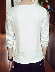 -p22- hommes nouveau café supermarché t-shirt à manches longues de la mode hh