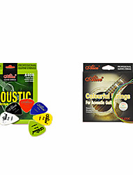 Professional String High Class Guitar Acoustic Guitar New Instrument Metal Musical Instrument AccessoriesRed Green Blue Yellow Silver
