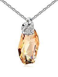 Femme Pendentif de collier Cristal Simple Style Bijoux Pour Anniversaire