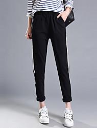 Знак лето новый досуг ноги был тонкий дикий свободный гарем брюки костюм брюки женская волна