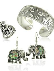 ювелирные изделия 1 пара серьги кольца браслеты&браслеты свадьба особый случай Хэллоуин ежедневно сплава 1set серебряные свадебные