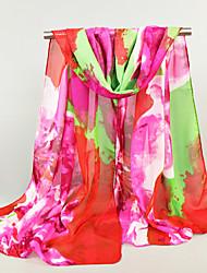 Women's Chiffon Rectangle,Cute Casual Print Spring Summer Fall