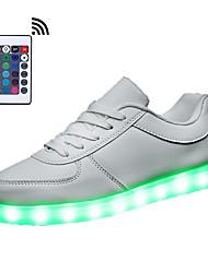 a conduit la lumière des chaussures unisexe chaussures de course télécommande chaussures de sport a conduit la lumière des chaussures de