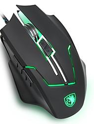 SADES Q7 gaming mouse with ergonomic mouse shape Laser tracking highest level 2400 DPI