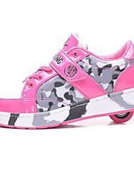 Kid's Unisex Inline Skates Anti-Slip Wearproof AdjustableBlack/Blue/Blushing Pink