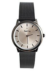 Women's Fashion Watch Japanese / Quartz Stainless Steel Band Casual Silver