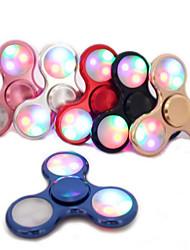 Leucht spinner Messing Schürze Ruders EDC fidget torqbar Messinglegierung Zirkoniumdioxid bearingr gyro für Autismus&ADHD Entspanung