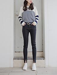 Antes de realmente hacer fan coreano salvaje delgado era fino dividido personalidad calle jeans vaqueros rectos salvaje