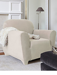 Stretch Pique Shorty Studio Sized Chair Slipcover Maude