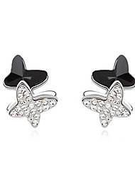 Earrings Set Crystal Unique Design Animal Design Euramerican Fashion Chrome Jewelry For Wedding Party Birthday Gift 1 pair