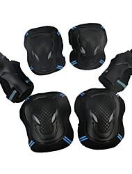 Unissex Joelheira Com Suporte Reforçado Leve Protecção Patins em Linha Esporte Ao Ar Livre Uso Profissional