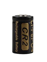 2pcs Soshine 3v 400mah высокой емкости CR2 lifepo4 аккумулятор для Фонари светодиодные фары
