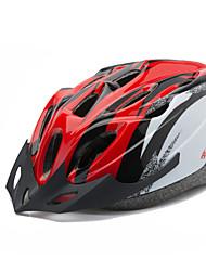 Unisex Bike Helmet 18 Hole  mountain bike helmet  Blue Silver