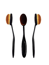 New Type Portable Toothbrush Without Trace Foundation Brush Brush BB Cream Powder Do Not Eat Long Rod Professional Makeup Brush Nude Make-up Novice