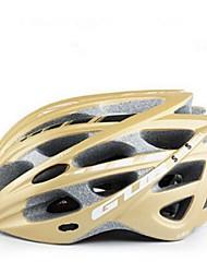 Спорт Универсальные Велоспорт шлем 30 Вентиляционные клапаны Велоспорт Велосипедный спорт Поликарбонат ПенополистиролБелый Серый Синий