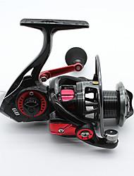 Molinetes de Pesca Molinetes Rotativos 5.2:1 9 Rolamentos Destro Pesca Geral-GB4000