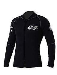 Unisex 5mm Camisa de neopreno Mantiene abrigado Neopreno Traje de buceo Manga Larga Trajes de buceo Tops-Natación Buceo Playa Primavera