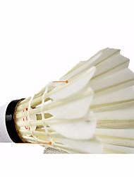 6 Badminton Volants Etanche Haute élasticité Durable pour Plume d'oie Autre