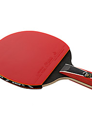 4 Stars Table Tennis Rackets Ping Pang Rubber Long Handle Pimples Outdoor Performance Practise Leisure Sports