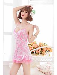 Jarretelles & Bretelles Ultra Sexy Vêtement de nuit Femme Solide Acrylique