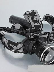 Налобные фонари LED Люмен Режим Простота транспортировки для Походы/туризм/спелеология Повседневное использование На открытом воздухе