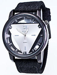 Men's Fashion Personality Ttriangle Strands Quartz Watch
