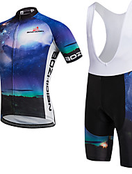 AOZHIDIAN Summer Cycling Jersey Short Sleeves BIB Shorts Ropa Ciclismo Cycling Clothing Suits #AZD143