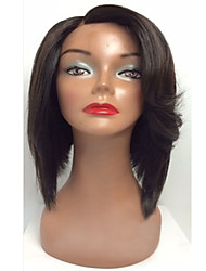 Silky Straight Glueless Human Virgin Hair Lace Front Wigs Human Hair Lace Wig For Black Women